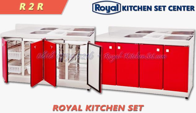 ROYAL KITCHEN SET ROYAL KITCHEN ROYAL DE LUXE<br>(R 2 R) 1 produk_royal_kitchen_set_royal_02