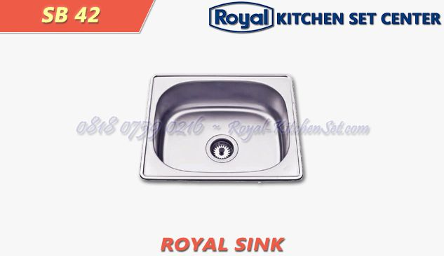 royal kitchen sink royal sink 13 sb 42 royal sink royal kitchenset 2021